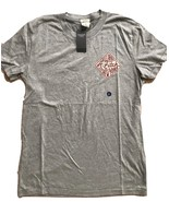 NWT Abercrombie Mens GRAPHIC TEE Shirt Light Heather Gray, LARGE - $17.55
