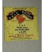 Bell brand AutoHarp Strings F or 4 middle octave 1, 2, 2 3/4 (a12-11) - $14.85