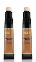 Milani Retouch + Erase Light-Lifting Concealer - Bronze (0.24 Ounce) (Set of 2) - $14.80
