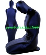 New Dark Blue Lycra Spandex Mummy Suit Outfit Costumes Unisex Sleeping B... - $32.99