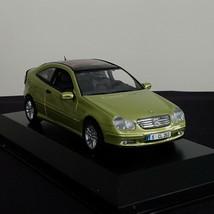 Green Metallic Mercedes Benz C-CLASS Sportcoupe Model 2001 Scale 1:43 Minichamps - $59.00