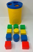 Fisher Price Shape Sorter #414 Toddler Toy With 11 Pieces Vintage 1977 1... - $23.70