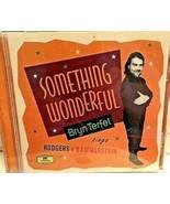 Bryn Terfel - Something Wonderful Cd - $10.99
