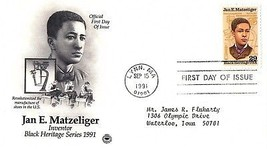 September 15, 1991 First Day of Issue, Postal Society Cover, Jan E. Matz... - $1.09