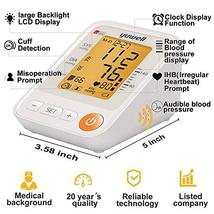 Yuwell Talking Blood Pressure Monitor Upper Arm,22-45cm Cuff,Large Backlight LCD image 3