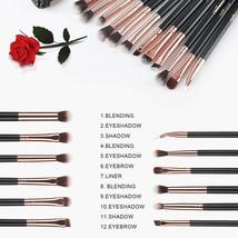 Conjunto De Brochas Y Pinceles Maquillaje Profesional Base Rubor Correct... - $18.96