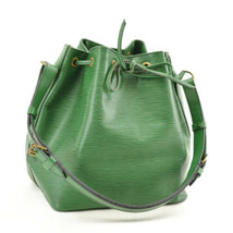 LOUIS VUITTON Epi Petit Noe Shoulder Bag Green Old Model M44104 LV Auth ... - $240.00