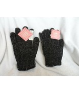 2 pairs of bath gloves infused with bamboo charcoal  new - $7.50
