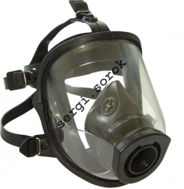 Full Face Russian Army Military Gas Mask MAG panoramic 2019 with filter GP-5 new