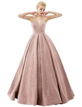 A-Line Glittery Sweetheart Prom Dresses 2019 Long Formal Evening Party B... - $129.99
