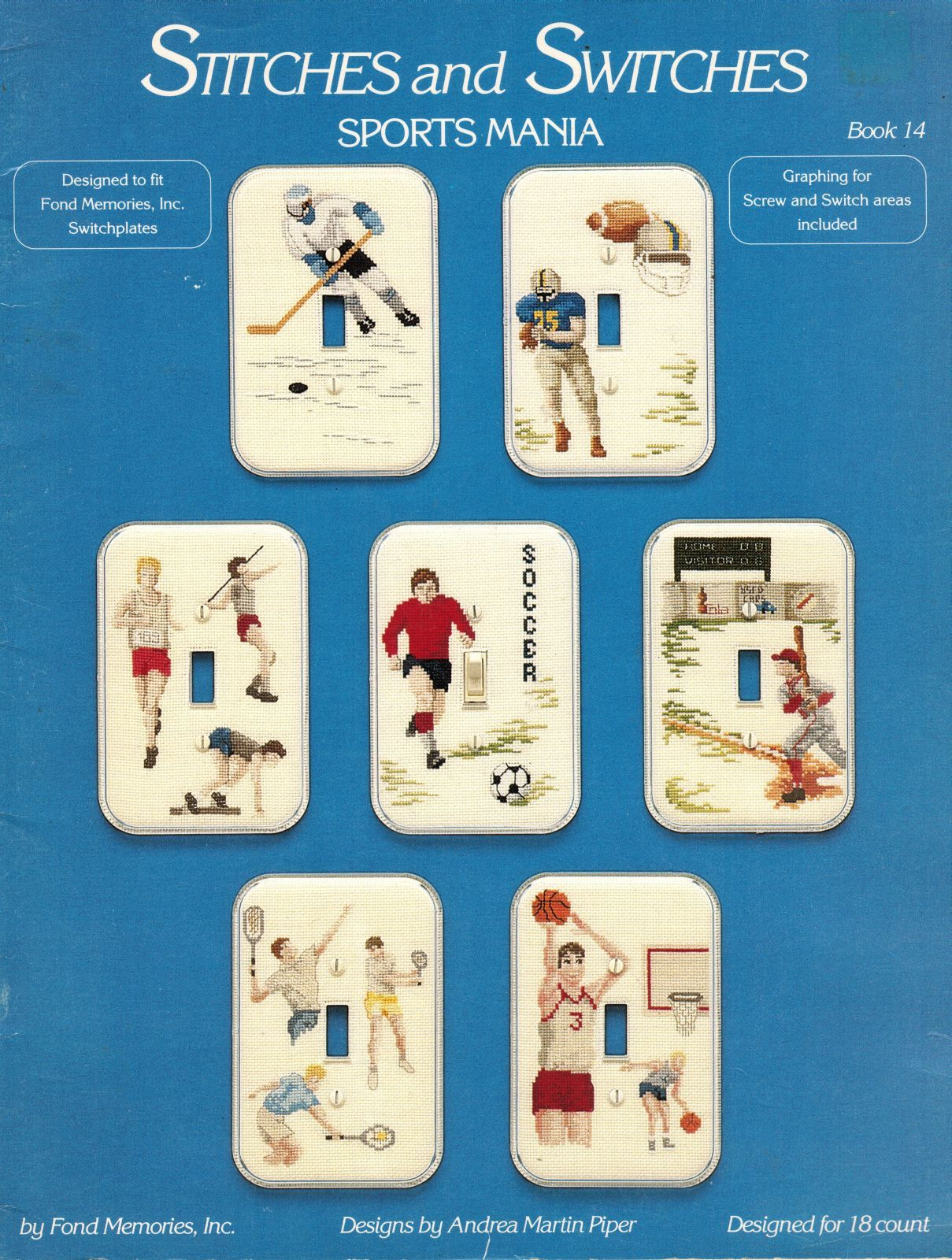7 Cross Stitch Sports Light Switch Plate And 50 Similar Items