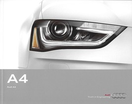 2013 Audi A4 sales brochure catalog US 13 2.0T - $8.00