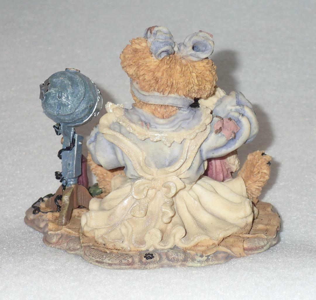 Boyd Bearstone Resin Bears Wanda & Gert A Little Off The Top Figurine #227719 image 2