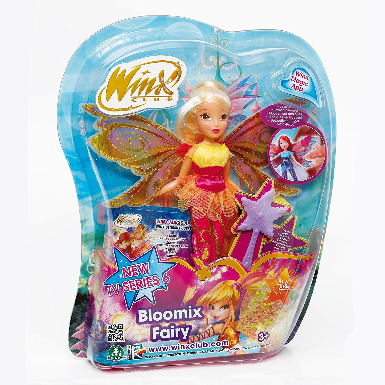 Winx Club Dreamix Fairy Stella Doll Figure Tv Serie 11/'/'