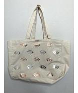 Kenzo Metallic Eyes Tote Bag Beige - $14.95