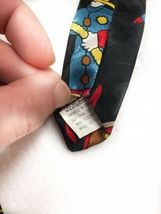 Fratello Firefighter Fire Truck Hydrant Vintage Novelty Tie Necktie Mens  image 6