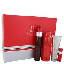 Perry Ellis 360 Red Gift Set -- 3.4 oz Eau De Toilette Spray + .25 oz Mini EDT S - $55.00