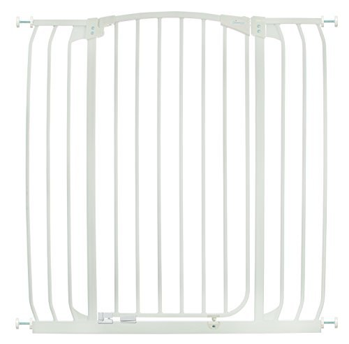Dreambaby Chelsea Extra Tall and Wide Auto Close Security Gate in White image 1