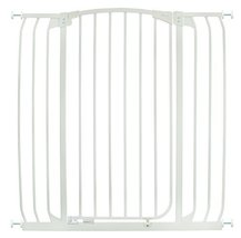 Dreambaby Chelsea Extra Tall and Wide Auto Close Security Gate in White - $99.99
