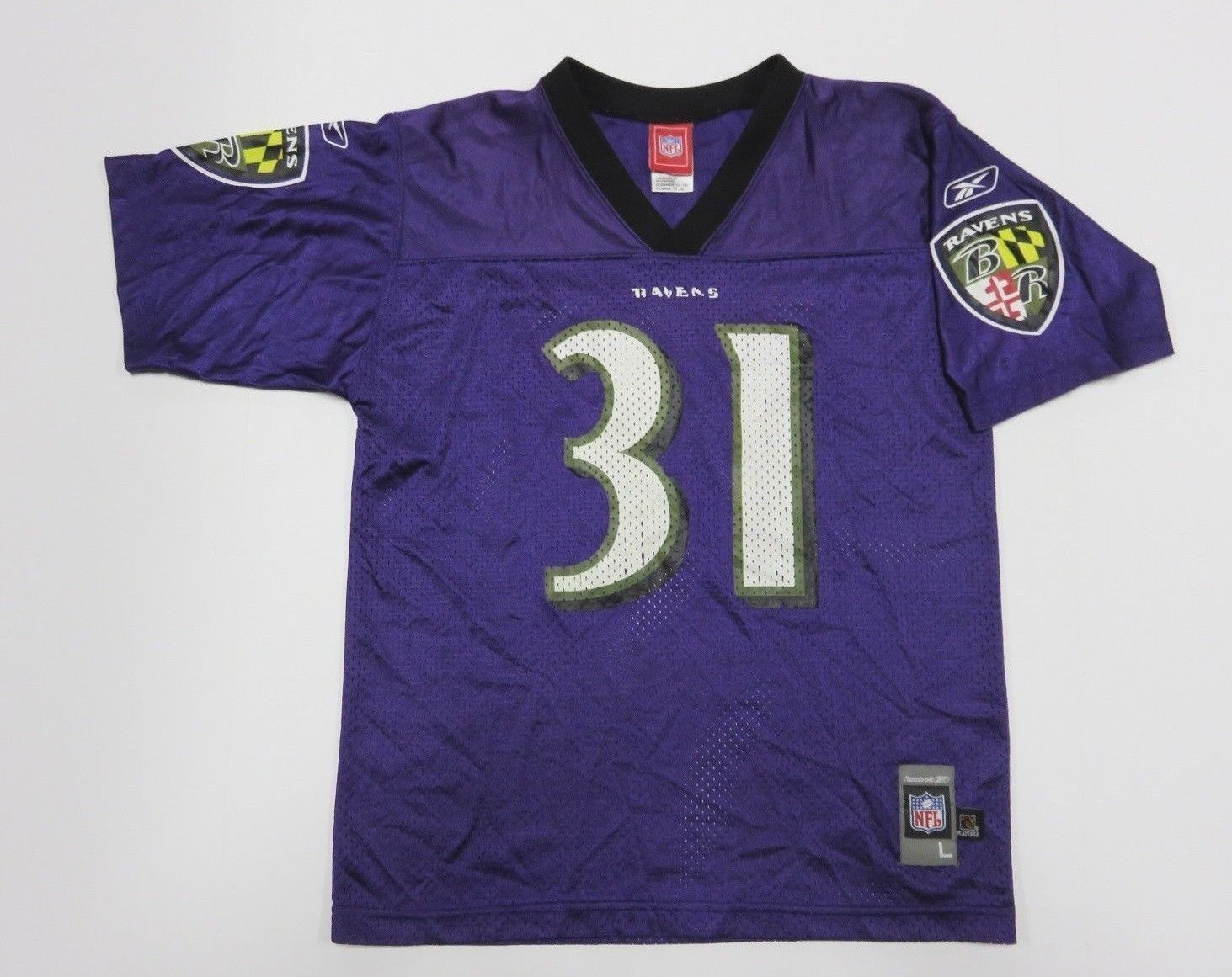 6f2f52dca NFL REEBOK Ray Lewis  31 Baltimore Ravens and 50 similar items