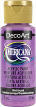 Americana Acrylic Paint 2Oz-Wild Orchid Semi-Opaque - $6.28