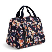 Vera Bradley Water-Repellent Lighten Up Lunch Cooler Bag, Cut Vines