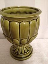 "Vintage Relpo 5 1/2"" Green Vase/Planter #6173 - $9.50"