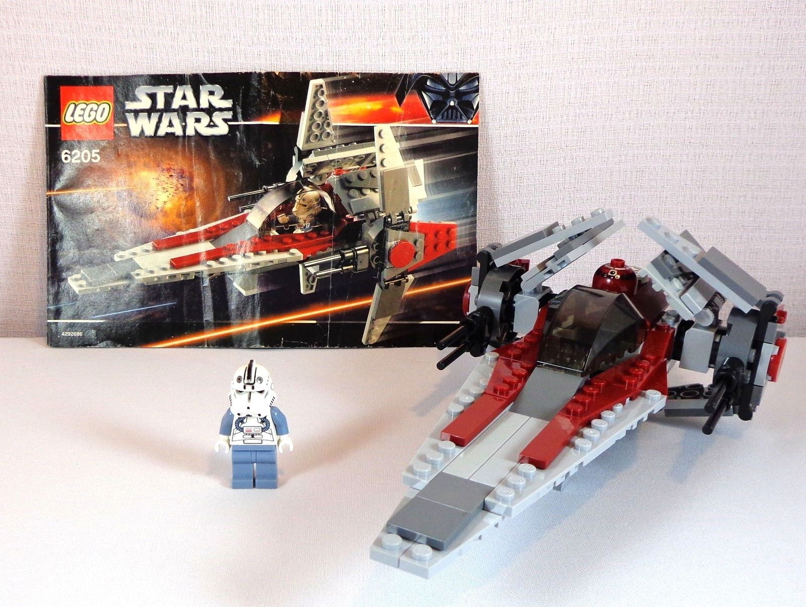 Lego Star Wars 6205 Set Episode Iii V Wing And 50 Similar Items