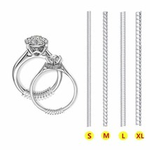 Ring Size Adjuster 12 Pack Invisible Size Adjuster For Loose Rings 4 Sizes - $5.37