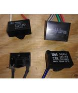 8UU14  ASSORTED CAPACITORS, 250V CLASS: 3MF / 3.09, 4MF / 3.39, 4.75 / 4... - $9.78