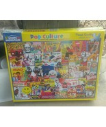 Pop Culture 1000 Piece Puzzle White Mountain #1148C Sealed NIP - $49.49
