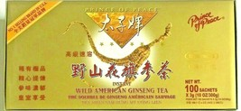 Prince Of Peace® Instant Wild American Ginseng Tea (100 Sachets X 3g) - $38.11