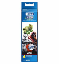 Oral B Power Replacement Electric Toothbrush Heads Star Wars x 4 - $40.96