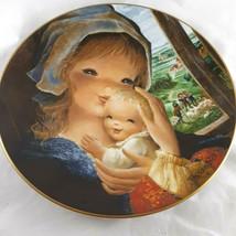 Juan Ferrandiz Schmid Pastoral Mother and Child Collectors LE Plate 9.75 Inches - $19.79