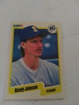 Fleer 1990 Mariners Pitcher Randy Johnson #518 Stats Baseball Card New - $5.94
