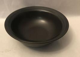 """Pfaltzgraff Midnight Sun Cereal Bowl 6 3/8"""" Black - $14.85"""