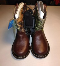 Infant Garanimals Mossy Oak Camo Boots size 6 - £5.37 GBP
