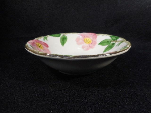 """Vintage Franciscan Dessert Rose 6"""" Cereal Soup Bowl Interpace USA"""