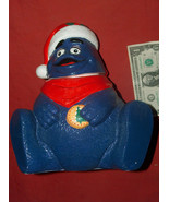 "1997 Grimace In Santa Stocking Cap McDonald's 10"" Ceramic Cookie Jar Hap... - $59.38"