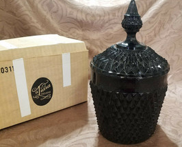 Vintage Tiara Exclusives Cameo Black Diamond Pt 2 pc. Ice Bucket (1980s) - $36.00