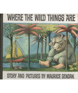 Where The Wild Things Are By Maurice Sendak ~ Hardcover 25th Anniversary... - $9.99