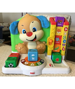 Fisher Price Laugh and Learn First Words Smart Puppy - FFN33, COMPLETE SET - $31.68