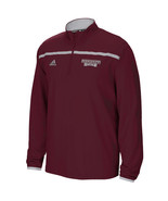 NWT New Mississippi State Bulldogs adidas Quarter Zip Sideline Small L/S... - $49.45