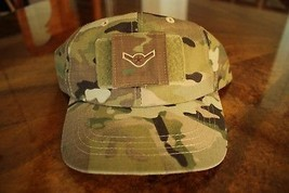 Usaf Us Air Force Multicam Ocp I/A E-2 Camouflage Combat Ballcap Ball Cap Hat - $29.69