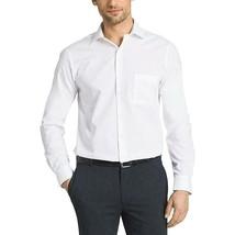 Kirkland Signature Men's Tailored Fit Non-Iron Dress Shirt White 16 1/2 -35 - $16.33