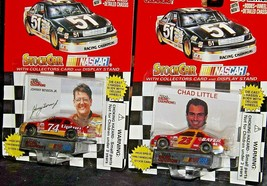 NASCAR Racing Champions Stock Car Johnny Benson Jr. #74 and Chad Little # 23 AA2