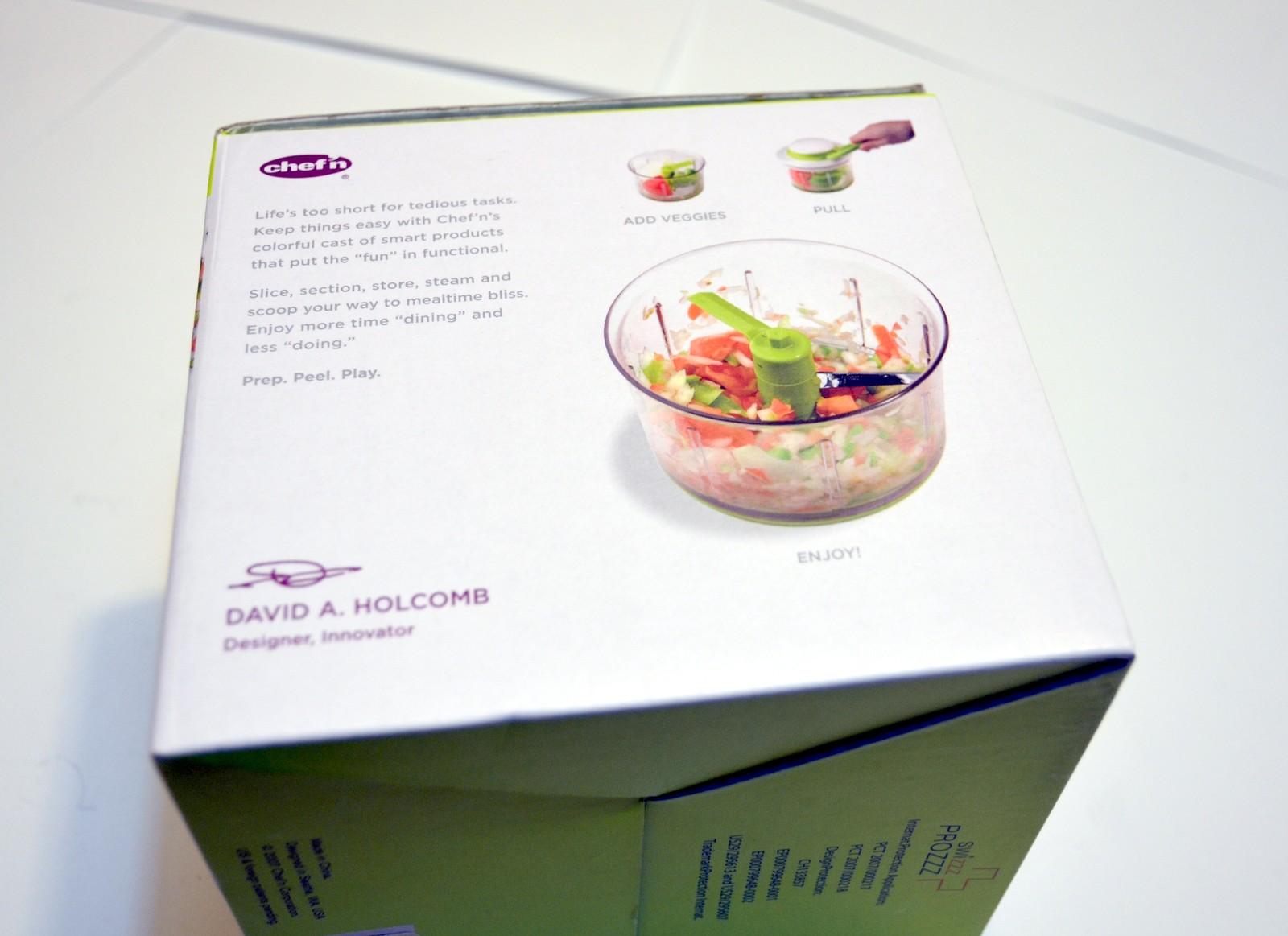 Chef\'n VeggiChop Hand-Powered Food Chopper and 50 similar items