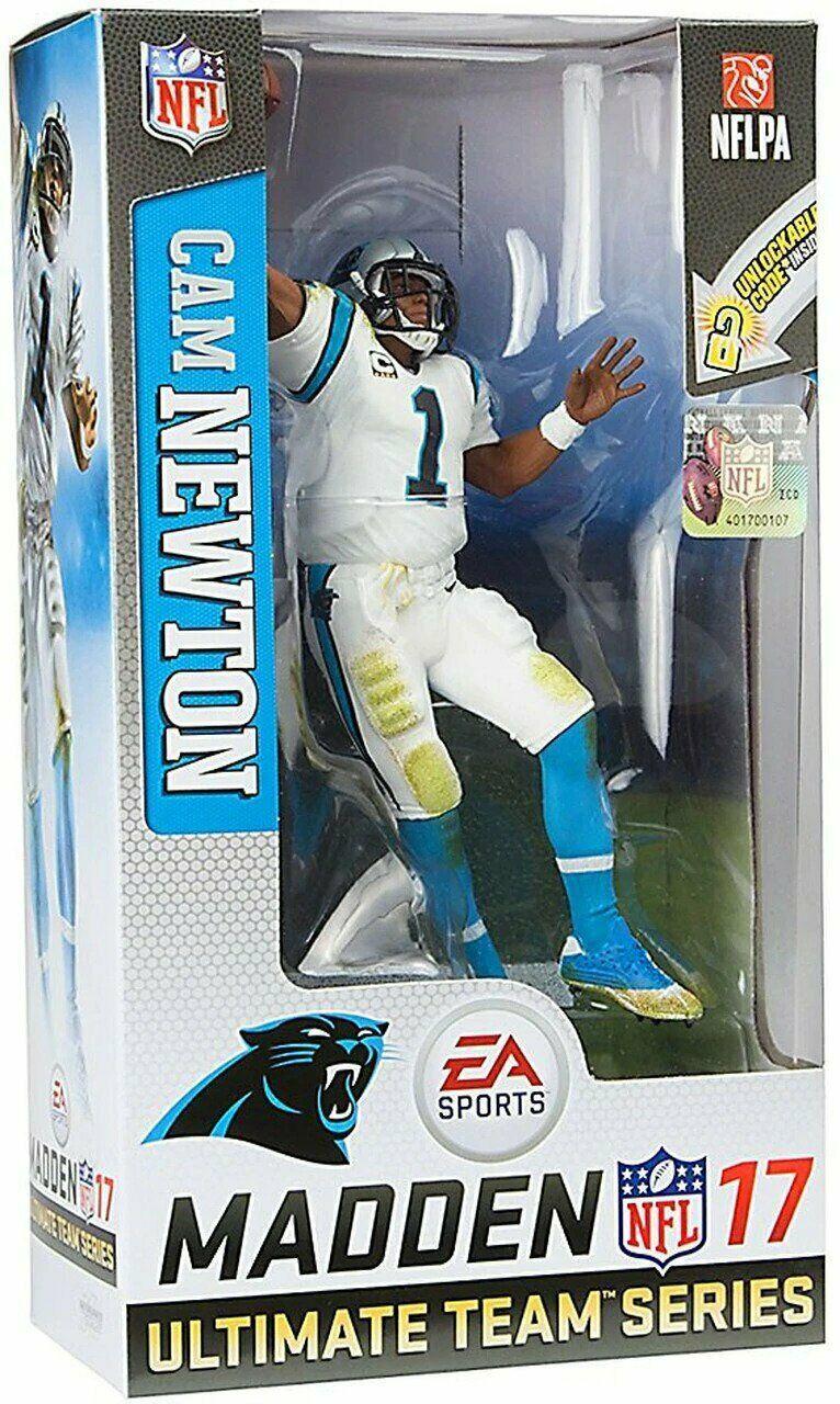 Cam Newton Carolina Panthers NFL Madden 17 Figure EA Sports Series 3 McFarlane - $44.54
