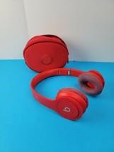 Beats by Dr. Dre Solo HD Headband Headphones - Red  *no cord ..worn ear ... - $29.69