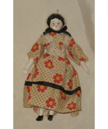 Vintage China Prairie Doll with stand - $24.99